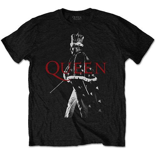 Queen Unisex Tee: Freddie Crown