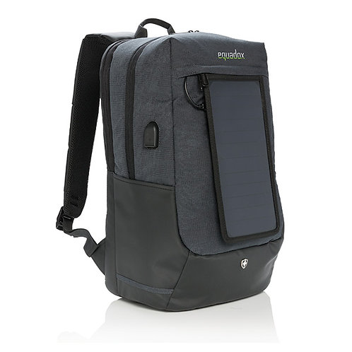 Swiss Peak Eclipse Solar Backpack