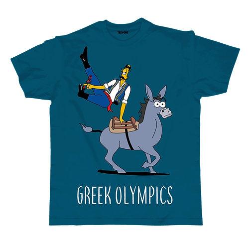 Greek Olympics Gymnast Unisex Tee