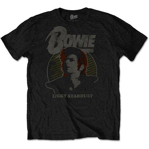 David Bowie Unisex Tee: Vintage Ziggy