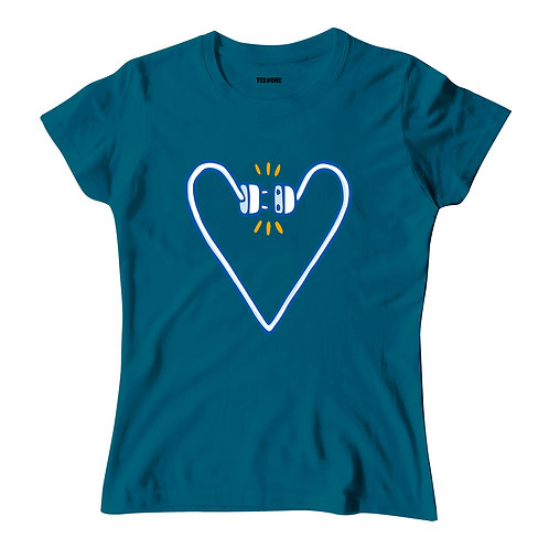 Power Heart Ladies Tee
