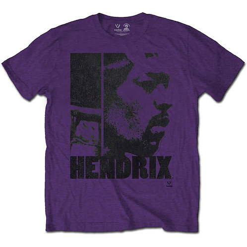Jimi Hendrix Unisex Tee: Let Me Die