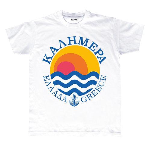 Kalimera Greece Unisex Tee