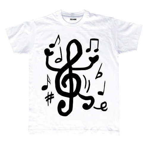 Let The Music Play Unisex Tee