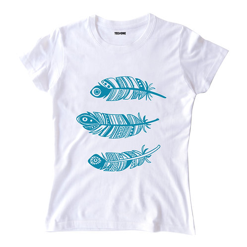 Feather Ladies Tee