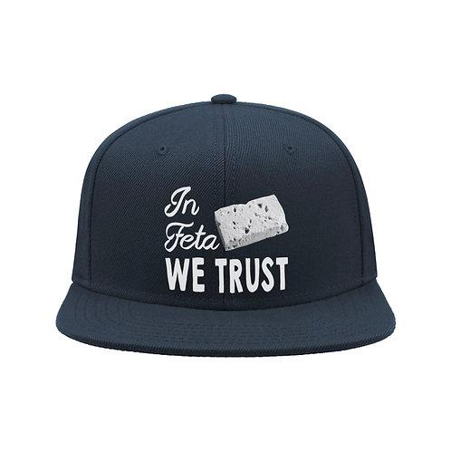 In Feta We Trust (Navy, Royal Blue)