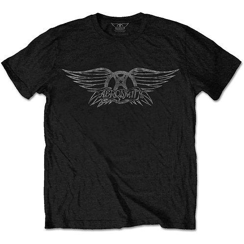 Aerosmith Unisex Tee: Vintage Logo