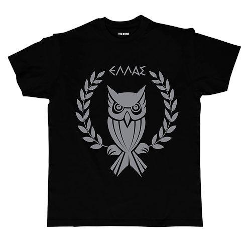Greek Owl Unisex Tee