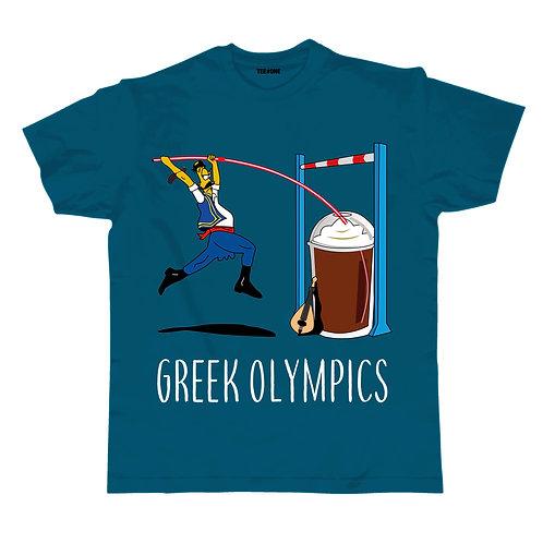 Greek Olympics Coffee Jumper Unisex Tee