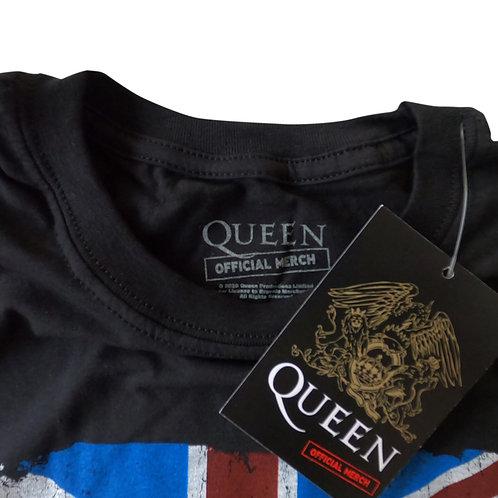 Queen Unisex Tee: Union Jack