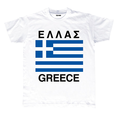 Greek Flag Unisex Tee