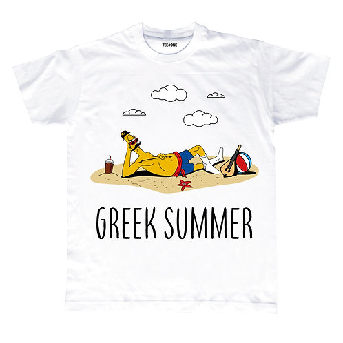 Greek Summer Unisex Tee
