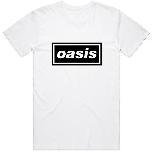 Oasis Unisex Tee: Decca Logo