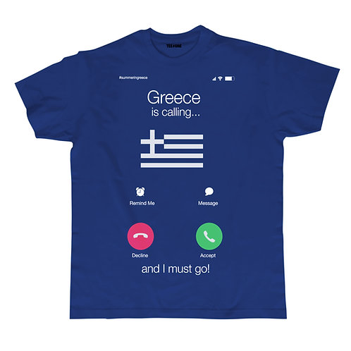Greece is Calling Unisex Tee