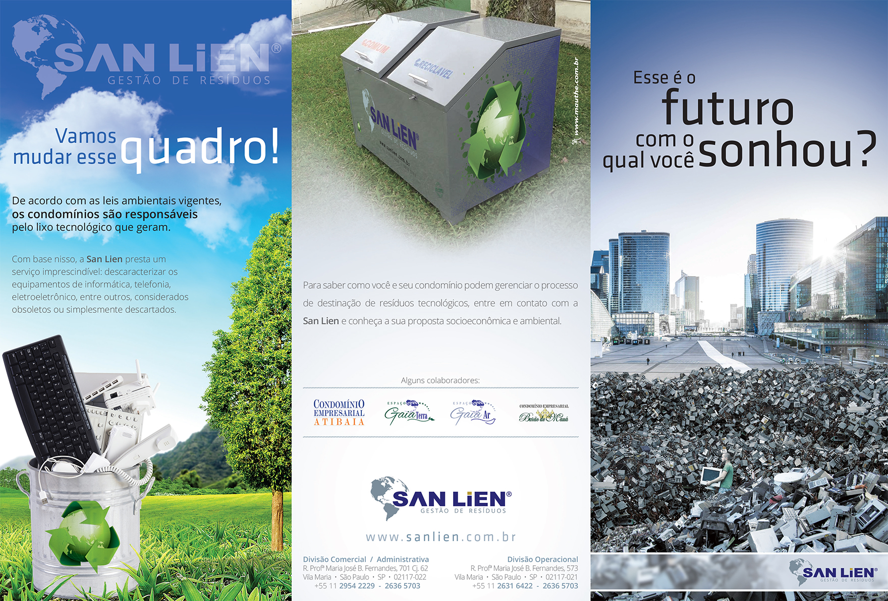 Folder Institucional San Lien