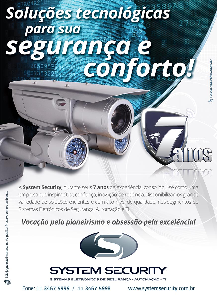 Folheto System Security