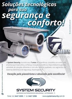 Folheto System Security
