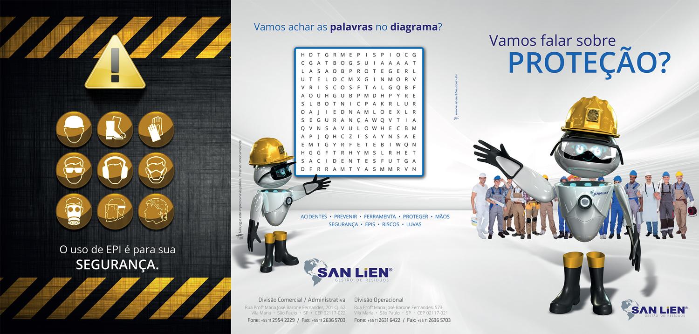 Folheto EPI San Lien