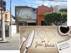 Placa Fachada João e Maria