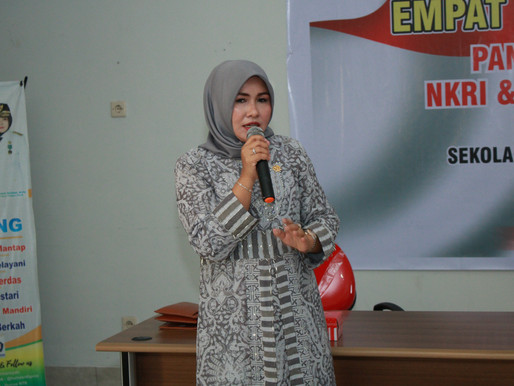 Gelar Sosialisasi 4 Pilar Kebangsaan, Senator Evi Apita Maya Ajak Generasi Cintai Produk Lokal