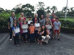 Hawaii Nei Winners with Families