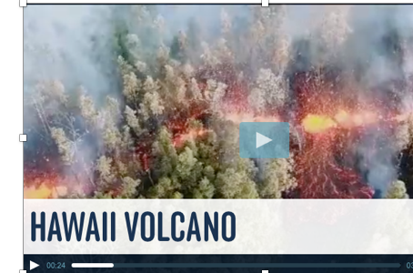 BTN News Features Volcano School Students on Recent Volcanic Activity