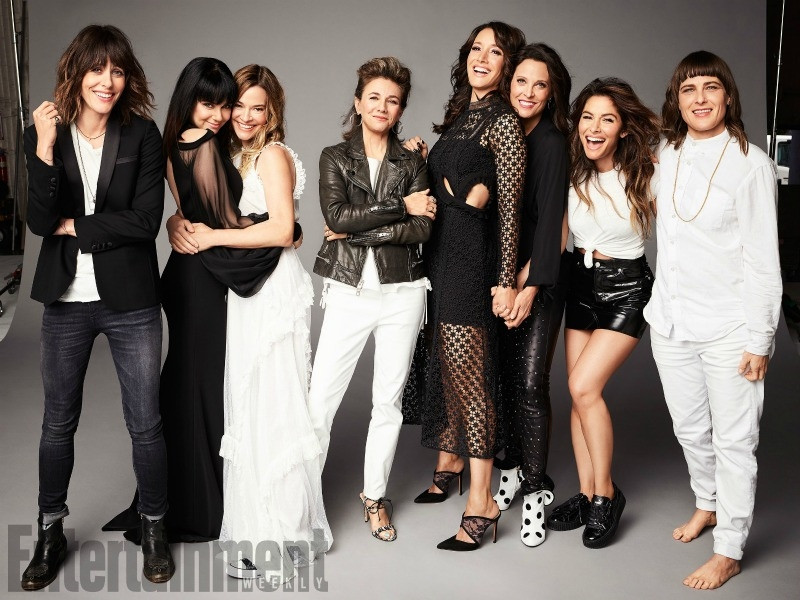 The cast of the orginal L Word. Showtime is developing a new version of the smash lesbian TV show
