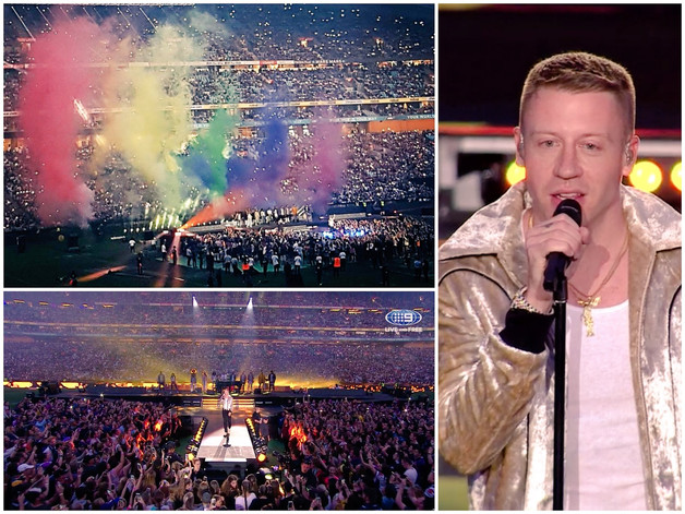 Love Wins As Macklemore Sings 'Same Love' At NRL Grand Final & Calls For Equality For Al