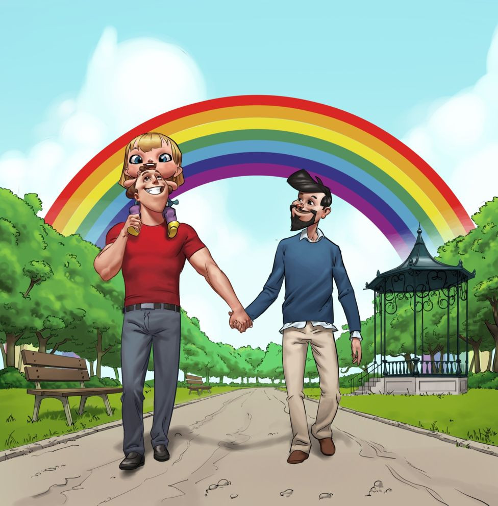 My Rainbow Family, Croatia's first same-sex parenting children's book aims to combat homophobia in the Catholic country.
