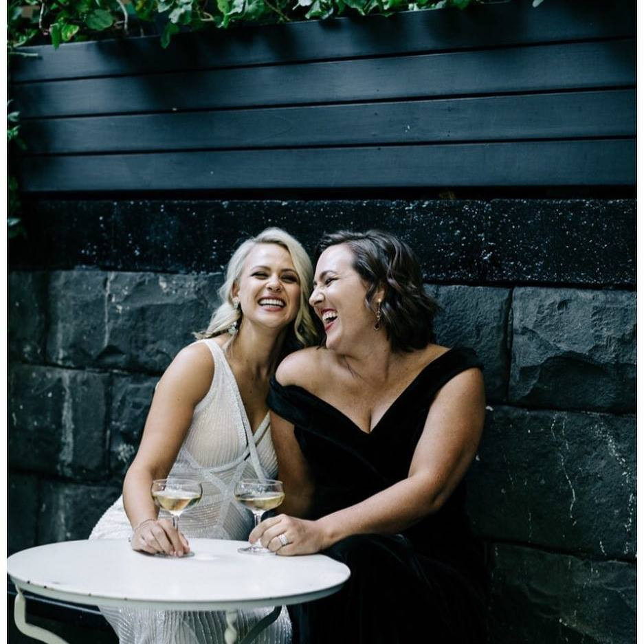 Elise & Amy McDonald Are The First Same-Sex Couple In Victoria To Marry
