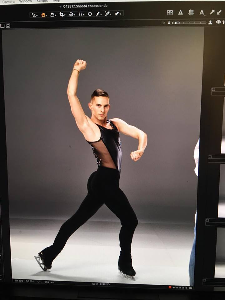 US Olympic figure skater and out gay role model Adam Rippon will be competing at the Pyeongchang games.