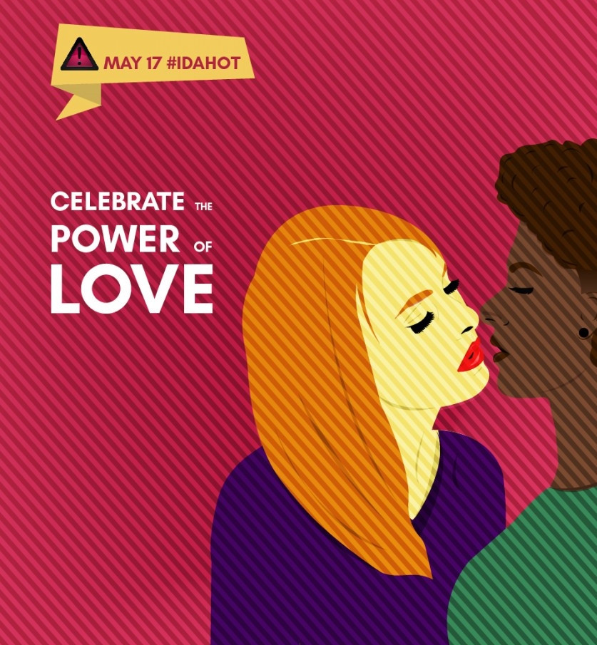 Wednesay May 17 Is IDAHOT, The International Day Against Homophobia, Transphobia & Biphobia.