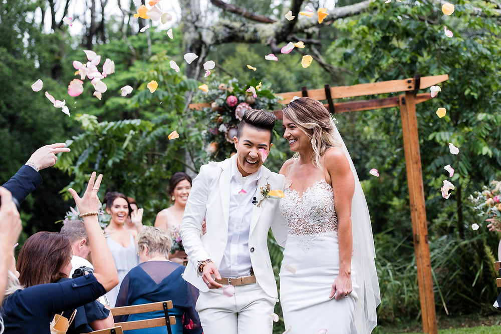 Kadie & Jess couldn't wait for marriage equality to come to Australia. They married in October on the Sunshine Coast