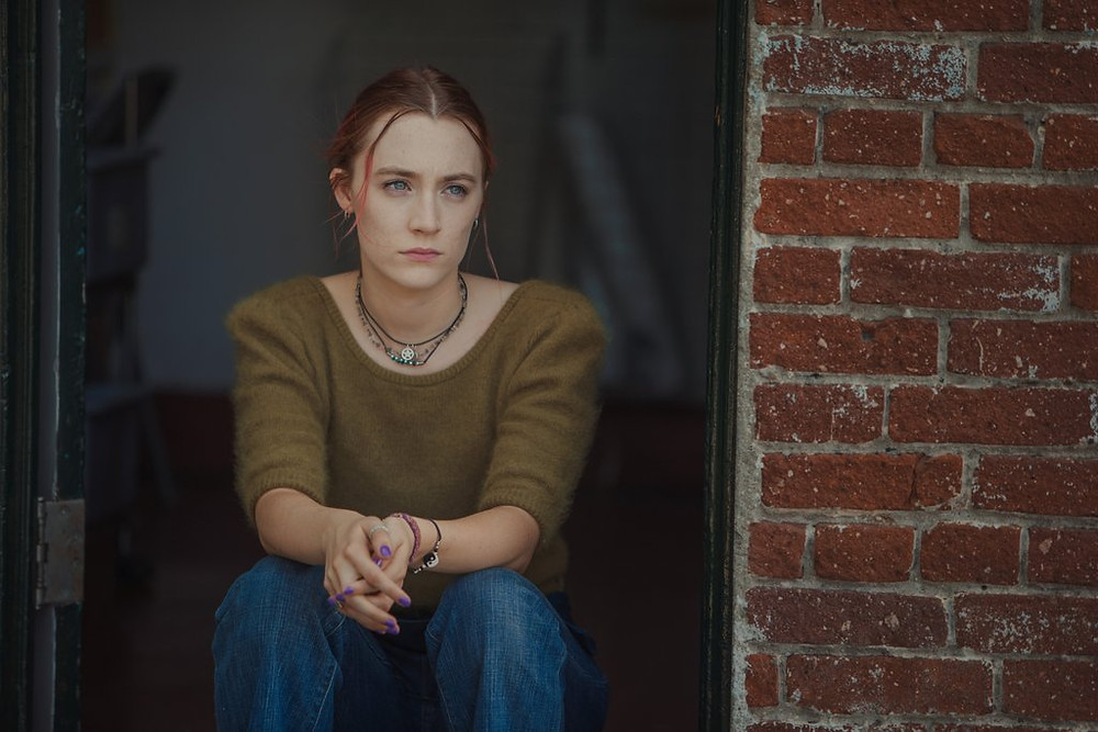 Saorise Ronan stars in LGBT inclusive movie Lady Bird, nominated for Best Picture at this year's Oscars