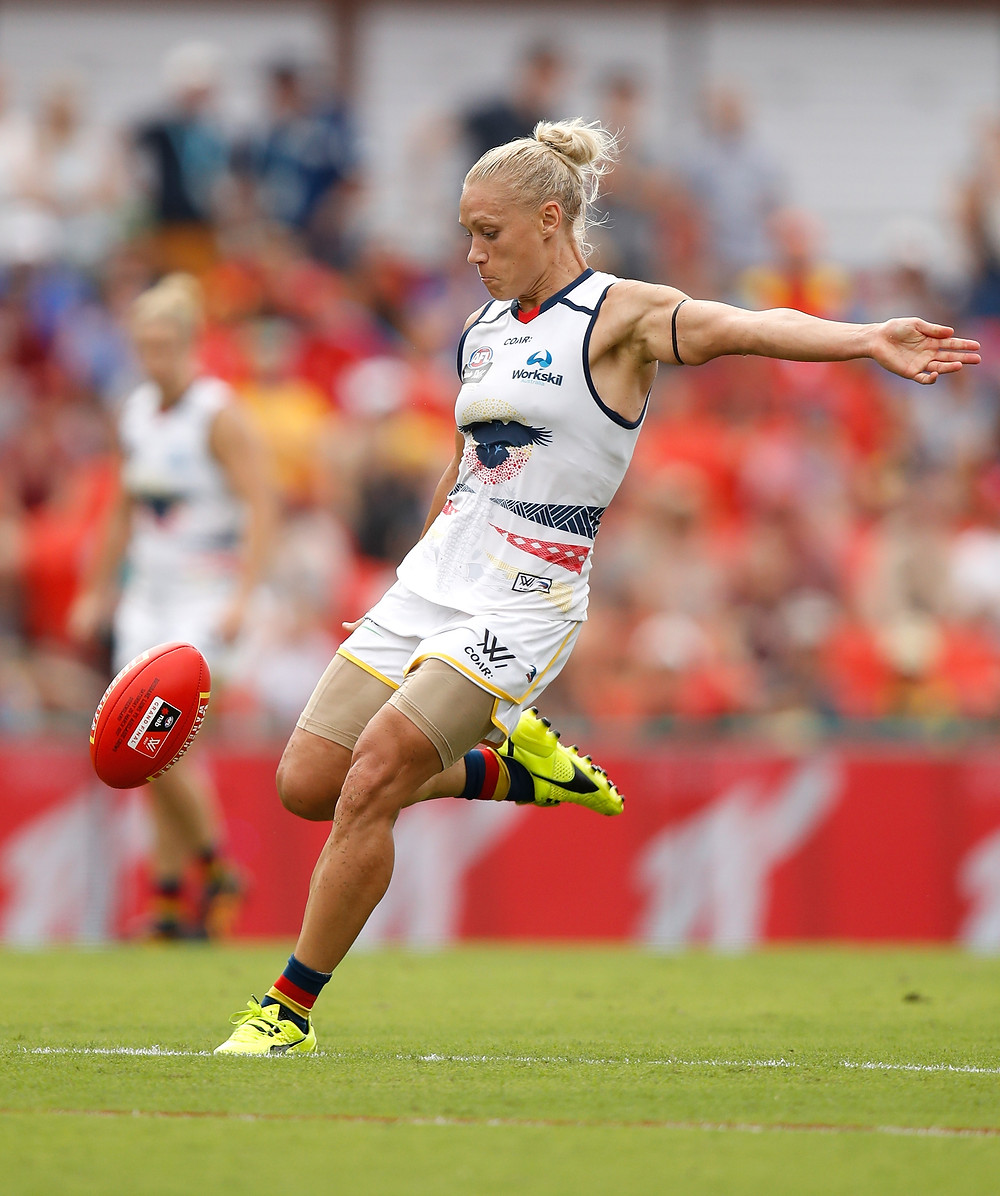 AFLW superstar Erin Phillips has signed with the Adelaide Crows for next season
