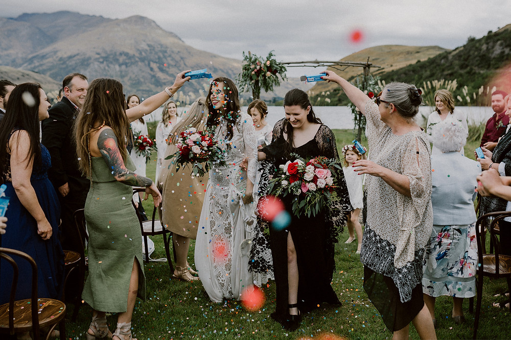 Inspiring real-life lesbian weddings feture in Dancing With Her, the world's first lesbian print bridal magazine.