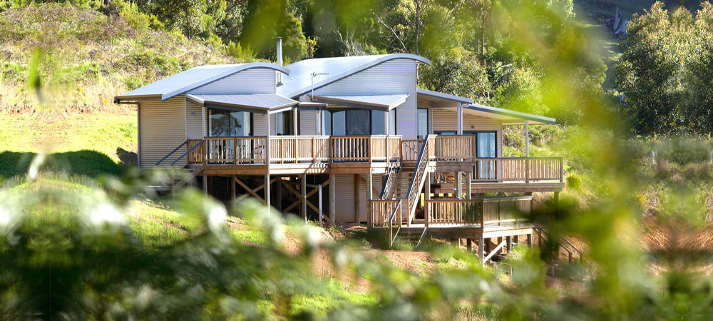 Serendeva holiday home on Mt Shadforth in Denmark WA