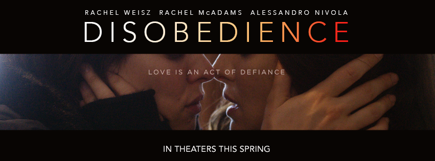 Disobedience is the story of forbidden lesbian love in the Orthodox Jewish community.