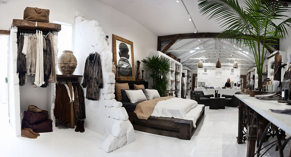 Island luxe & island luxe tribe in Bangalow & Byron Bay are shopping heaven.