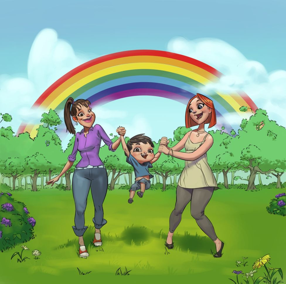 My Rainbow Family is a new children's book released in Croatia as a way of fighting homophobia.