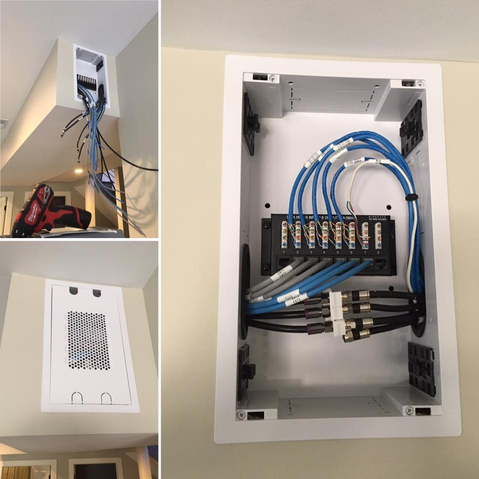 Network Audio And Video Infrastructure Wireless Home Smart Wiring Theater Control Holland Mi