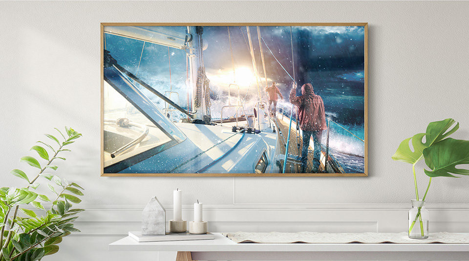 Samsung's Stunning 4K Art TV Available from Ambience Home Tech