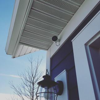 Nest Cam Outdoor Installation