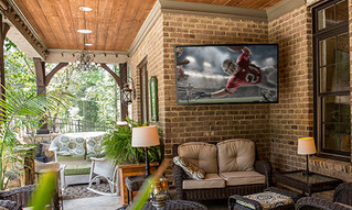 Outdoor TVs maximize value and enhance outdoor living.