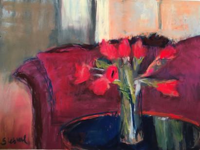 Red (Nana's Tulips)