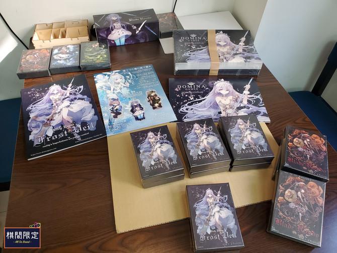 [桌遊到貨] Domina Games 最新推出的日本卡牌對戰遊戲Blade Rondo Frost Veil ブレイドロンド フロストヴェール 現貨發售中