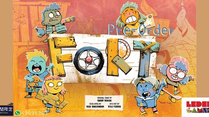 [桌遊預訂] Root同廠首款非KS桌遊 - Fort By Leder Games