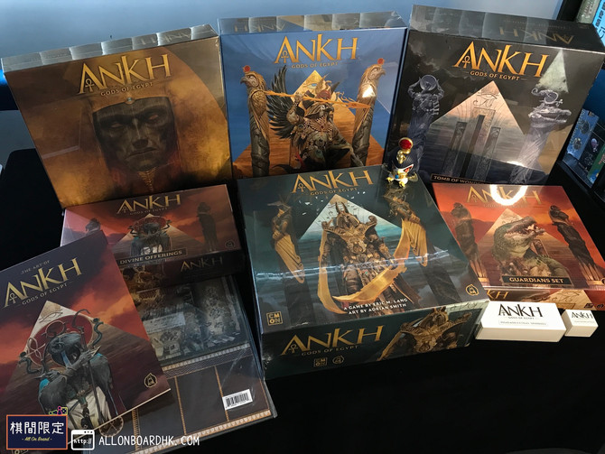 [桌遊到貨] Ankh-Gods of Egypt Arrival