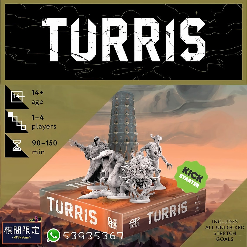 [Canceled] TURRIS By AP Boardgames