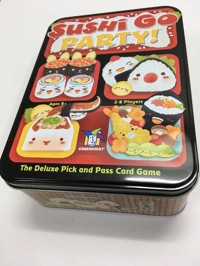 桌遊介紹 | Sushi GO Party!